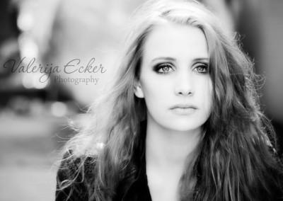 Portrait schwarzweiß