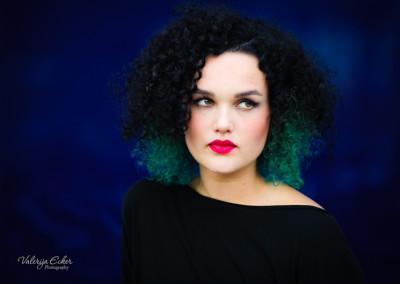 Portrait Fashion Valerija Ecker